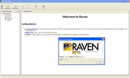 Zoundry Raven - How to manage all of your blogs with one  application